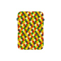 Flower Floral Sunflower Color Rainbow Yellow Purple Red Green Apple iPad Mini Protective Soft Cases