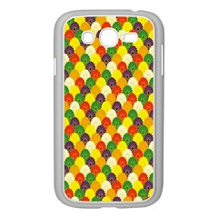 Flower Floral Sunflower Color Rainbow Yellow Purple Red Green Samsung Galaxy Grand DUOS I9082 Case (White)