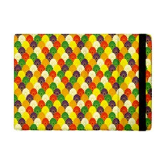 Flower Floral Sunflower Color Rainbow Yellow Purple Red Green iPad Mini 2 Flip Cases
