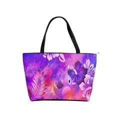 Littie Birdie Abstract Design Artwork Shoulder Handbags