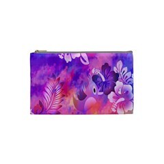 Littie Birdie Abstract Design Artwork Cosmetic Bag (small)