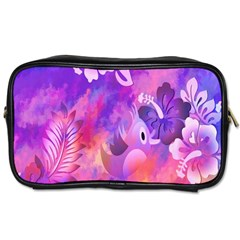 Littie Birdie Abstract Design Artwork Toiletries Bags 2 Side