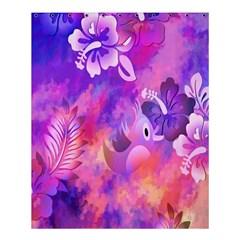 Littie Birdie Abstract Design Artwork Shower Curtain 60  X 72  (medium)