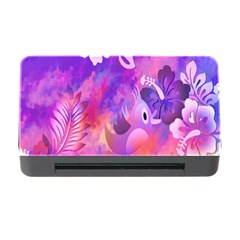 Littie Birdie Abstract Design Artwork Memory Card Reader With Cf