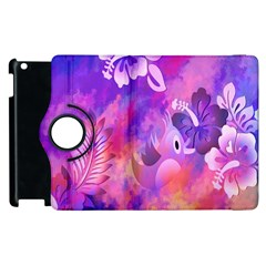 Littie Birdie Abstract Design Artwork Apple Ipad 3/4 Flip 360 Case