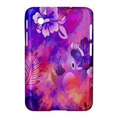 Littie Birdie Abstract Design Artwork Samsung Galaxy Tab 2 (7 ) P3100 Hardshell Case