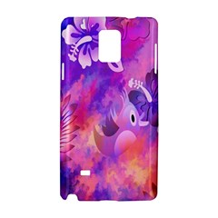 Littie Birdie Abstract Design Artwork Samsung Galaxy Note 4 Hardshell Case