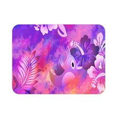 Littie Birdie Abstract Design Artwork Double Sided Flano Blanket (mini)