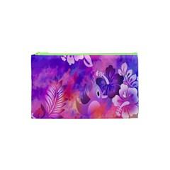 Littie Birdie Abstract Design Artwork Cosmetic Bag (XS)