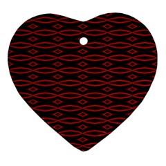 Repeated Tapestry Pattern Abstract Repetition Ornament (heart)