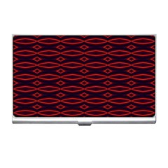 Repeated Tapestry Pattern Abstract Repetition Business Card Holders