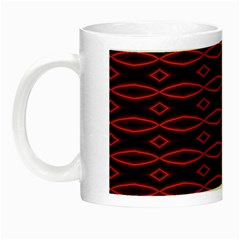 Repeated Tapestry Pattern Abstract Repetition Night Luminous Mugs