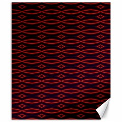 Repeated Tapestry Pattern Abstract Repetition Canvas 8  X 10