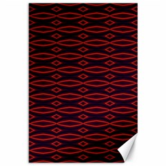 Repeated Tapestry Pattern Abstract Repetition Canvas 12  x 18