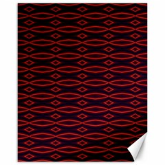 Repeated Tapestry Pattern Abstract Repetition Canvas 16  x 20