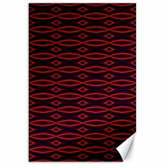 Repeated Tapestry Pattern Abstract Repetition Canvas 20  X 30