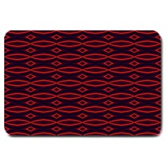 Repeated Tapestry Pattern Abstract Repetition Large Doormat
