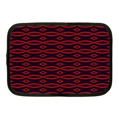 Repeated Tapestry Pattern Abstract Repetition Netbook Case (Medium)