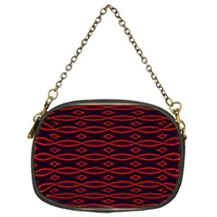 Repeated Tapestry Pattern Abstract Repetition Chain Purses (One Side)