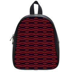 Repeated Tapestry Pattern Abstract Repetition School Bags (small)