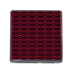 Repeated Tapestry Pattern Abstract Repetition Memory Card Reader (square)