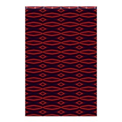 Repeated Tapestry Pattern Abstract Repetition Shower Curtain 48  x 72  (Small)