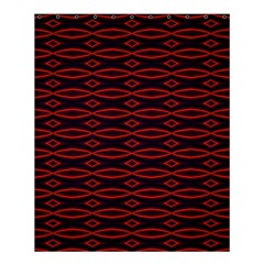 Repeated Tapestry Pattern Abstract Repetition Shower Curtain 60  X 72  (medium)