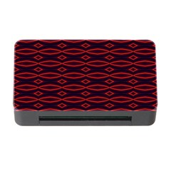 Repeated Tapestry Pattern Abstract Repetition Memory Card Reader With Cf