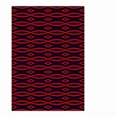 Repeated Tapestry Pattern Abstract Repetition Small Garden Flag (two Sides)