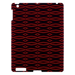 Repeated Tapestry Pattern Abstract Repetition Apple iPad 3/4 Hardshell Case
