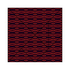 Repeated Tapestry Pattern Abstract Repetition Acrylic Tangram Puzzle (6  x 6 )