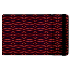 Repeated Tapestry Pattern Abstract Repetition Apple Ipad 2 Flip Case