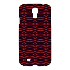 Repeated Tapestry Pattern Abstract Repetition Samsung Galaxy S4 I9500/I9505 Hardshell Case