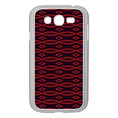 Repeated Tapestry Pattern Abstract Repetition Samsung Galaxy Grand Duos I9082 Case (white)