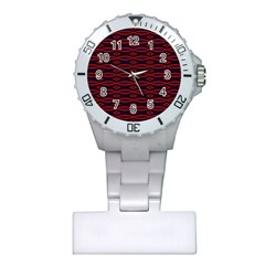 Repeated Tapestry Pattern Abstract Repetition Plastic Nurses Watch