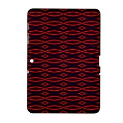 Repeated Tapestry Pattern Abstract Repetition Samsung Galaxy Tab 2 (10 1 ) P5100 Hardshell Case