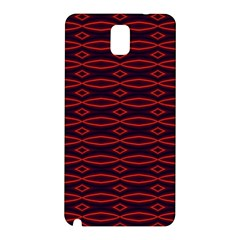 Repeated Tapestry Pattern Abstract Repetition Samsung Galaxy Note 3 N9005 Hardshell Back Case