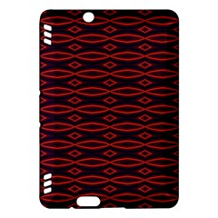 Repeated Tapestry Pattern Abstract Repetition Kindle Fire Hdx Hardshell Case