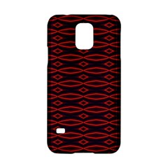 Repeated Tapestry Pattern Abstract Repetition Samsung Galaxy S5 Hardshell Case