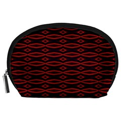 Repeated Tapestry Pattern Abstract Repetition Accessory Pouches (Large)