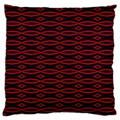 Repeated Tapestry Pattern Abstract Repetition Large Flano Cushion Case (one Side)
