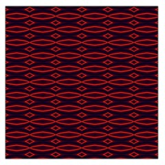Repeated Tapestry Pattern Abstract Repetition Large Satin Scarf (Square)