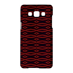 Repeated Tapestry Pattern Abstract Repetition Samsung Galaxy A5 Hardshell Case