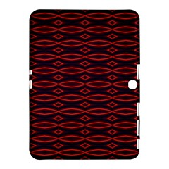 Repeated Tapestry Pattern Abstract Repetition Samsung Galaxy Tab 4 (10.1 ) Hardshell Case