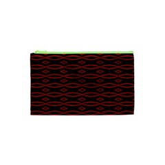 Repeated Tapestry Pattern Abstract Repetition Cosmetic Bag (XS)