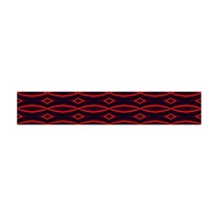 Repeated Tapestry Pattern Abstract Repetition Flano Scarf (mini)
