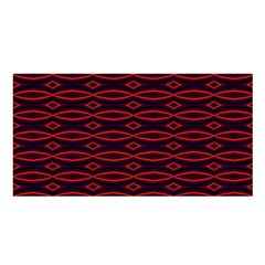 Repeated Tapestry Pattern Abstract Repetition Satin Shawl