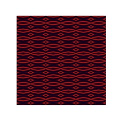 Repeated Tapestry Pattern Abstract Repetition Small Satin Scarf (square)