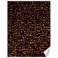 Brown Box Background Pattern Canvas 18  X 24