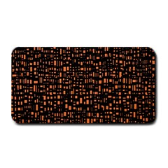 Brown Box Background Pattern Medium Bar Mats